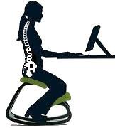 The balans chair