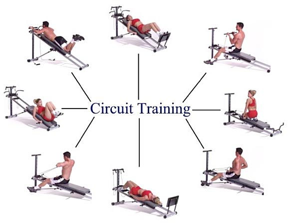 circuit training physical exercise